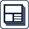 テンプレート型WEBサイトアイコン